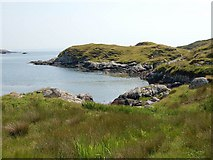 NG1490 : The head of Loch Cliuthair by John Allan