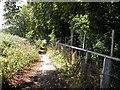 SP7263 : Approach to Dallington Heath by Kokai