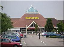 SP8234 : Morrisons Supermarket by Mr Biz