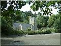 SW8435 : St. Just In Roseland Parish Church by Neil Kennedy