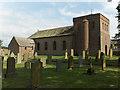 NY3745 : All Saints', Raughton Head by Andrew Smith