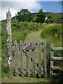 NR8641 : Gate and garden path by Gordon Brown