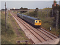 SJ7768 : Railway at Twemlow Green by Stephen Craven