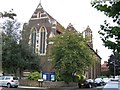 TQ2870 : St Barnabas church, Gorringe Park Avenue by Stephen Craven