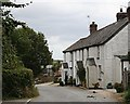SX1354 : Cottages at St Veep by Tony Atkin