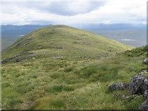 NN4264 : South ridge of Carn Dearg towards height 821 by Chris Wimbush