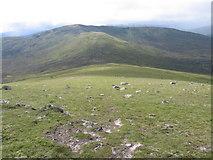 NN4467 : SW ridge of Sgor Gaibhre towards Carn Dearg by Chris Wimbush