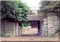 SJ4971 : Railway bridge near Manley by Alan Godfree