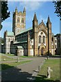 SX7467 : West Front, Buckfast Abbey by Rich Tea