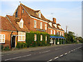 TL3250 : The Hardwicke Arms Hotel, Ermine Way, Arrington, Cambs by Rodney Burton