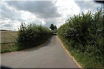 SO4012 : Deep set lane at Pretty Hedges, Penrhos by Mike Hallett