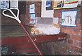 NY6820 : Station cat by Stephen Craven