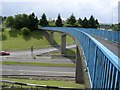 NS7573 : Blue Bridge, Cumbernauld by Chris Upson