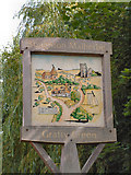 TQ8748 : Village Sign, Grafty Green & Boughton Malherbe by Dave Skinner