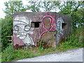 SJ9170 : Art or vandalism? by Neil Lewin