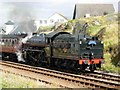 NM6796 : The Jacobite, Mallaig Station by Stephen McKay