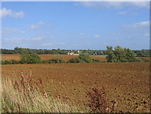 SP2213 : View towards Taynton by David Stowell