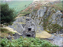 SN6199 : Ruined house by an old mine by John Lucas