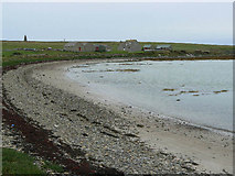 ND5299 : Beach and house at Roy, Holm, Orkney by Mark Crook
