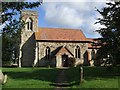 SP8322 : St. Nicholas, Cublington by Rob Farrow