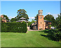 SJ5844 : Clocktower, Combermere Abbey by Espresso Addict