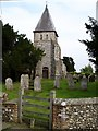 TQ9656 : St Mary, Eastling by Penny Mayes