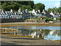 NG8033 : Shoreside Houses Plockton by Dave Fergusson