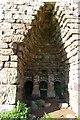 NY6434 : Lime Kiln Detail by Charles Rispin