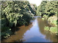SO4717 : The River Monnow viewed from Tregate Bridge by Philip Halling