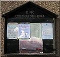 NY7914 : Village notice board, Brough by Martyn Gorman