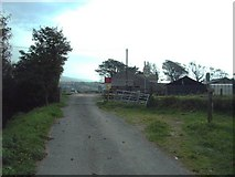 SD2283 : Level crossing at Angerton Hall by Alexander P Kapp