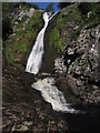 NH6186 : Wester Fearn Burn Waterfall by Gregor Laing