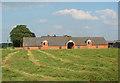 SJ5247 : Barn at Bickley Hall Farm by Espresso Addict