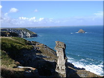 SX0587 : Cornish Coast by Edward Morgan
