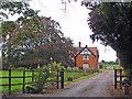 SJ6349 : Baddington: The Grange by Mike Harris