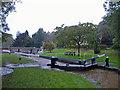 SJ5659 : Tilstone Fearnall: Tilston Lock by Mike Harris