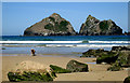 SW7659 : A Glorious day at Holywell Bay by Geoff Welding