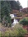 NM4850 : Waterfall above Loch Frisa by Rob Farrow