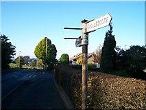 SO9182 : Old Road Sign by Dan Quinn