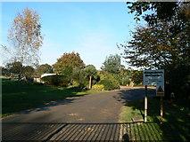 SU1689 : Kingsdown Nurseries Kingsdown Lane Blunsdon Swindon by Brian Robert Marshall