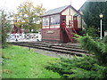 SD7916 : Ramsbottom Signal Box by Paul Anderson