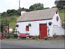 C0200 : Biddy and Joe's Cottage, Cloghan, Co. Donegal by Kenneth  Allen
