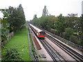 TQ1991 : Northern Line railway in Burnt Oak by Nigel Cox