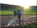 SJ5467 : Organsdale fields by Ian Nadin