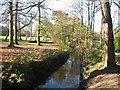 SJ4094 : River Alt near Croxteth Hall by Sue Adair