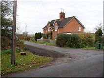 SU1181 : Houses off minor road south of West Swindon by Chris Henley