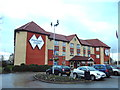 SJ8796 : Diamond Lodge Hotel, Belle Vue, Manchester by Alexander P Kapp