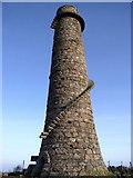 O2220 : Lead Mines Chimney Near Kiltiernan by JP