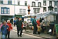 SH7877 : Conwy street market at Lancaster Square by Eric Jones