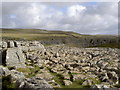 SD8964 : Limestone pavement above Malham Cove by Ian Greig